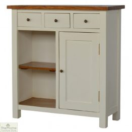 Woodbridge 3 Drawer 2 Shelf Sideboard_1