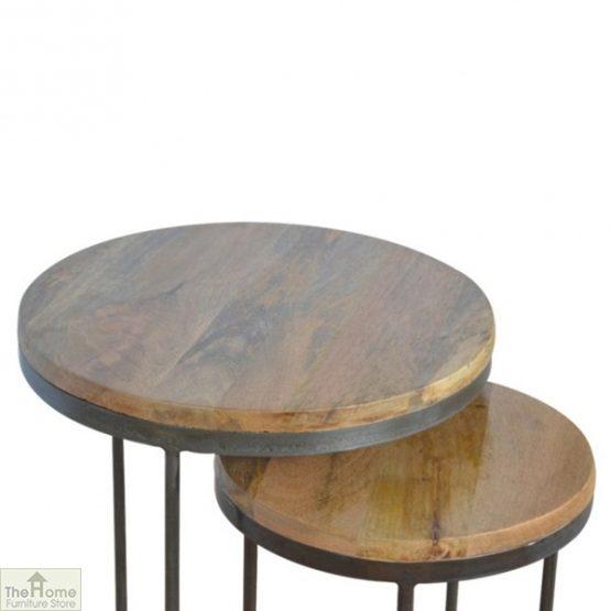Iron Base 2 Nesting Table Set_3