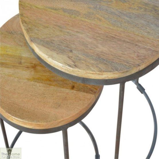 Iron Base 2 Nesting Table Set_4