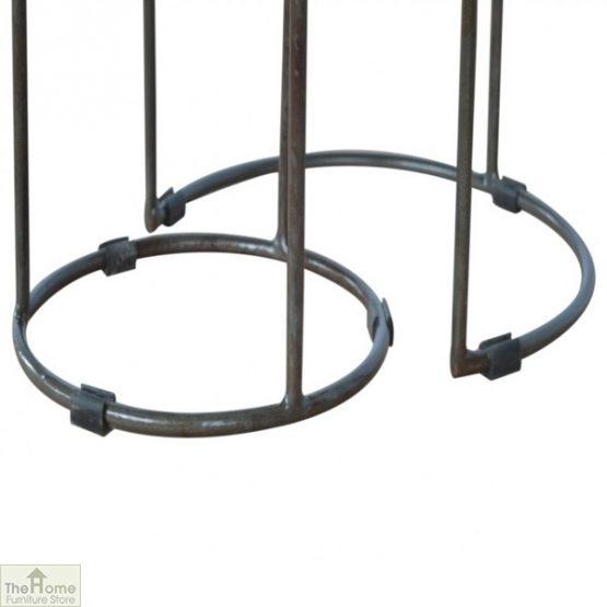 Iron Base 2 Nesting Table Set_6