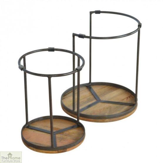 Iron Base 2 Nesting Table Set_7