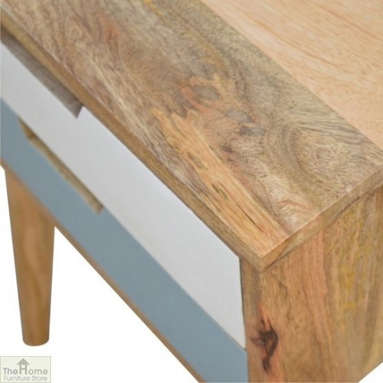 Winchester Blue 2 Drawer Bedside Table_7