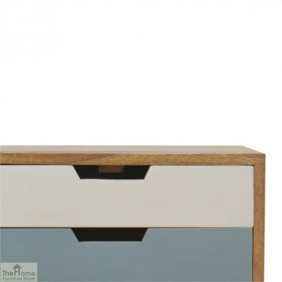 Winchester Blue 2 Drawer Bedside Table_5