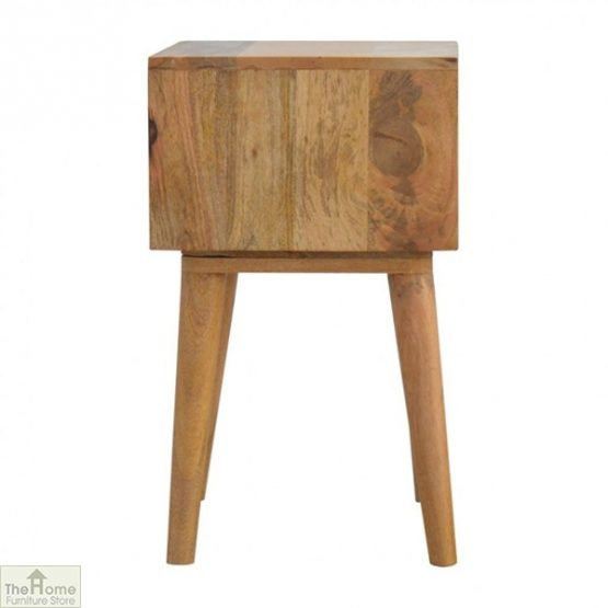 Winchester Blue 2 Drawer Bedside Table_3