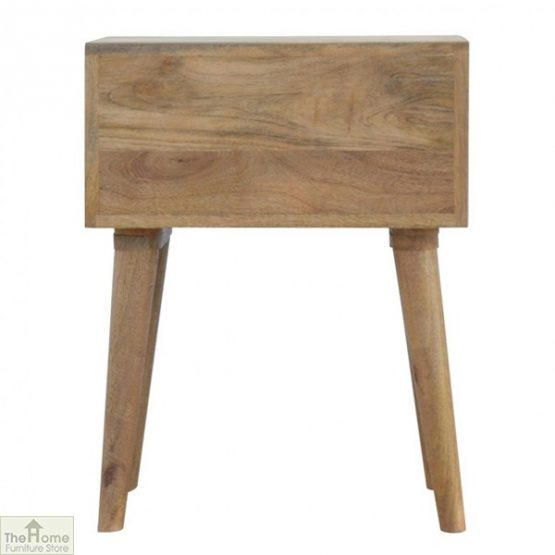 Winchester Blue 2 Drawer Bedside Table_4