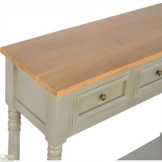 Toulon Grey 3 Drawer Console Table_3