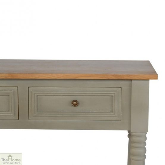 Toulon Grey 3 Drawer Console Table_4