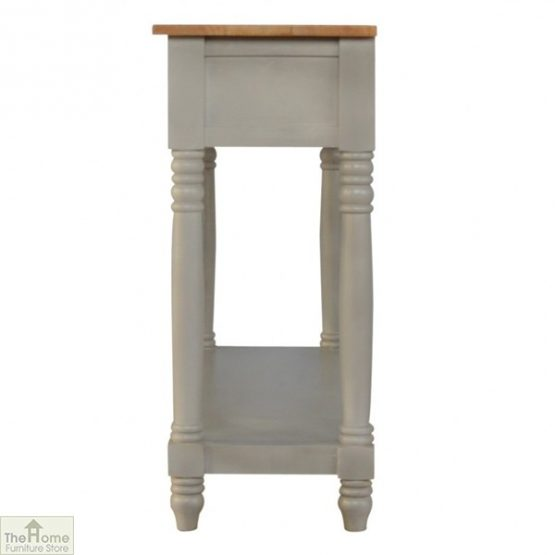 Toulon Grey 3 Drawer Console Table_7