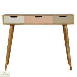Winchester Pink 3 Drawer Dressing Table