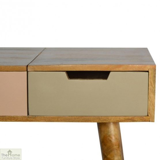 Winchester Pink 3 Drawer Dressing Table_4