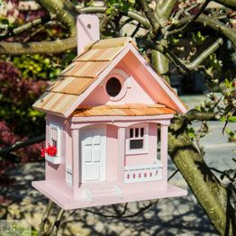 Cotton Candy Pink Bird House_1