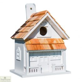 Country Cottage White Bird House