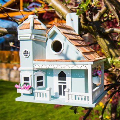 Flower Pot Cottage Bird House_1