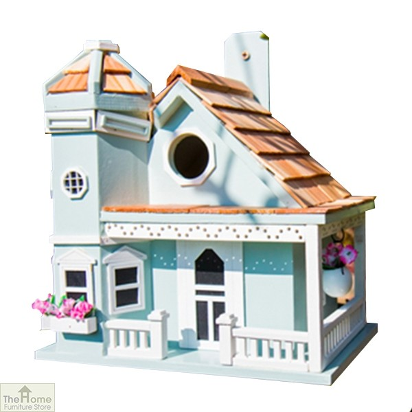 Flower Pot Cottage Bird House