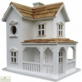 Prairie Farmhouse White Bird House