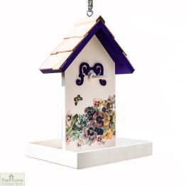 Butterfly Flower Hanging Bird Feeder