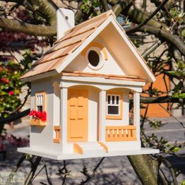 Peaches & Cream Bird House_1