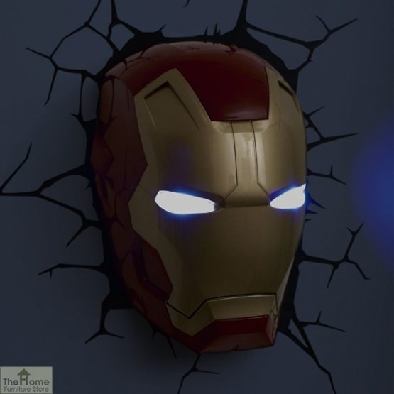 Marvel Iron Man Wall Light_3
