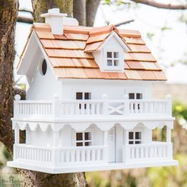 White Cottage Bird House_1