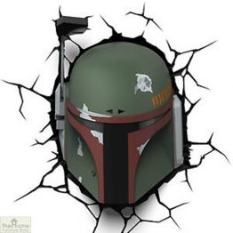Star Wars Boba Fett Wall Light