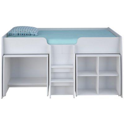 White 3ft Loft Bed Bundle_3
