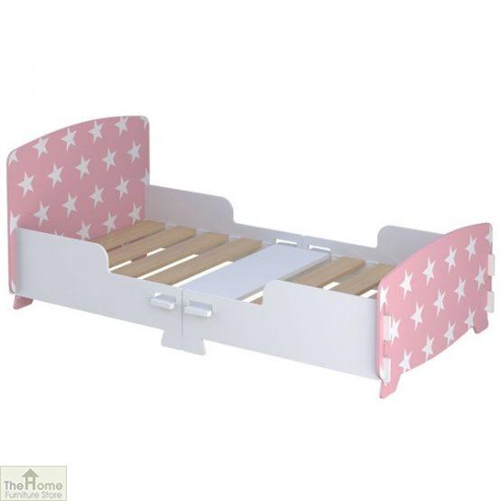 Pink Star Junior Toddler Bed_2
