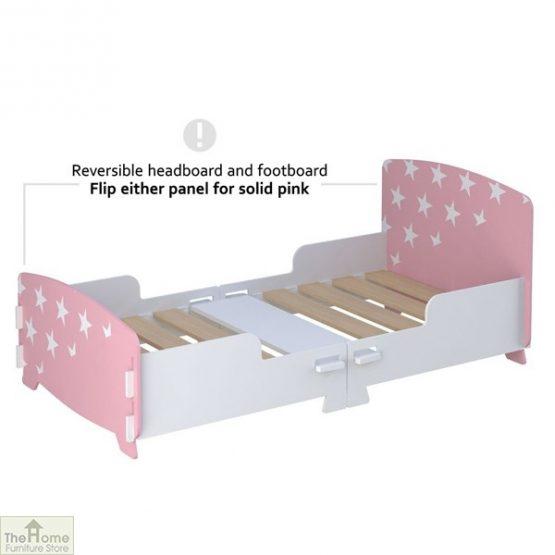 Pink Star Junior Toddler Bed_4