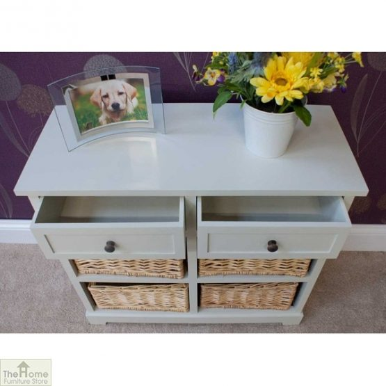 Casamoré Gloucester 2 Drawer 4 Basket Unit_4