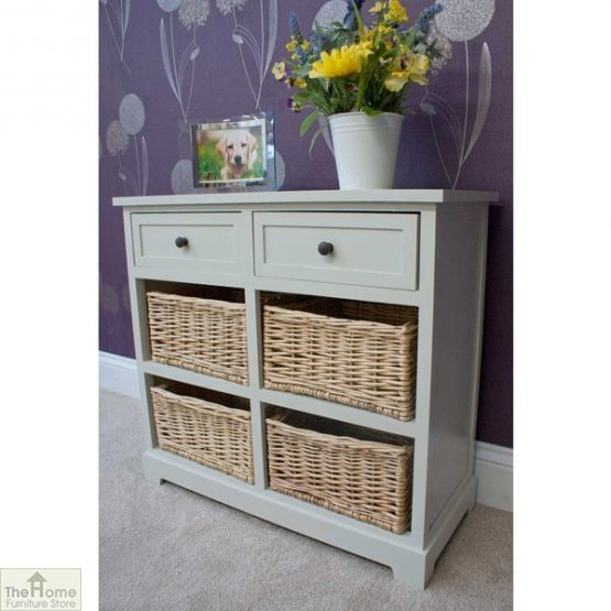 Casamoré Gloucester 2 Drawer 4 Basket Unit_6