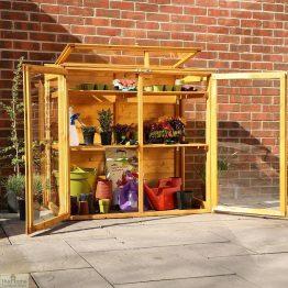 4 x 2 Mini Wooden Greenhouse_1
