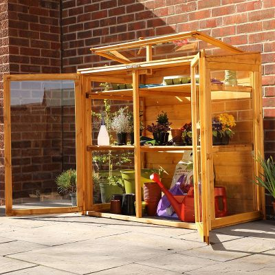 4 x 2 Mini Wooden Greenhouse_2