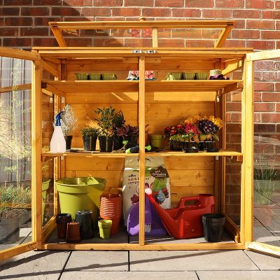 4 x 2 Mini Wooden Greenhouse_3