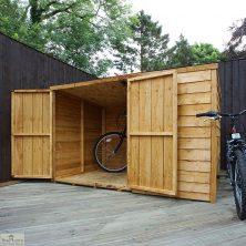 4 x 6 Pent Bike Store