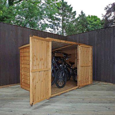 4 x 6 Pent Bike Store_2