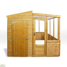 8 x 8 Combi Greenhouse Shed