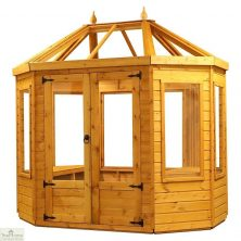 8 x 6 Octagonal Wooden Greenhouse