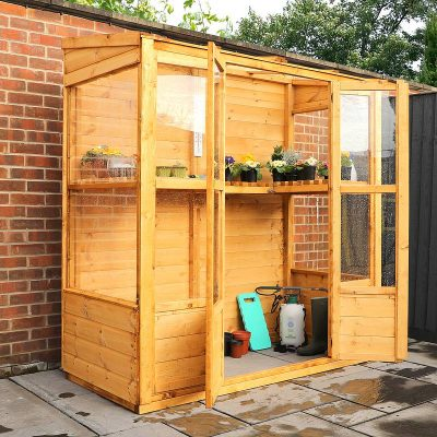 6 x 3 Victorian Wooden Growhouse_2