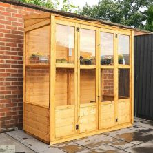 6 x 3 Victorian Wooden Growhouse