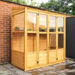6 x 3 Victorian Wooden Growhouse_1