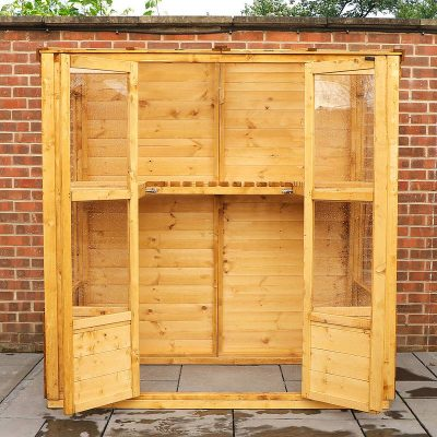 6 x 3 Victorian Wooden Growhouse_4