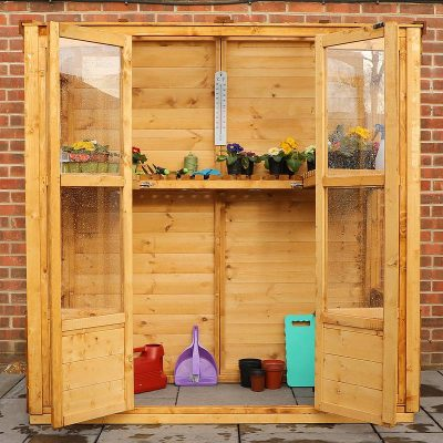 6 x 3 Victorian Wooden Growhouse_3