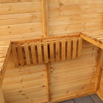 6 x 3 Victorian Wooden Growhouse_7