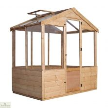 6 x 4 Evesham Wooden Greenhouse