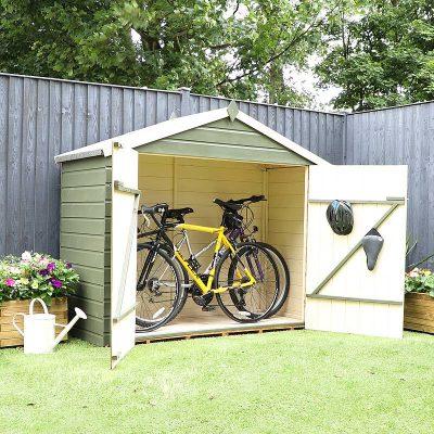3 x 7 Shiplap Apex Bike Store_5