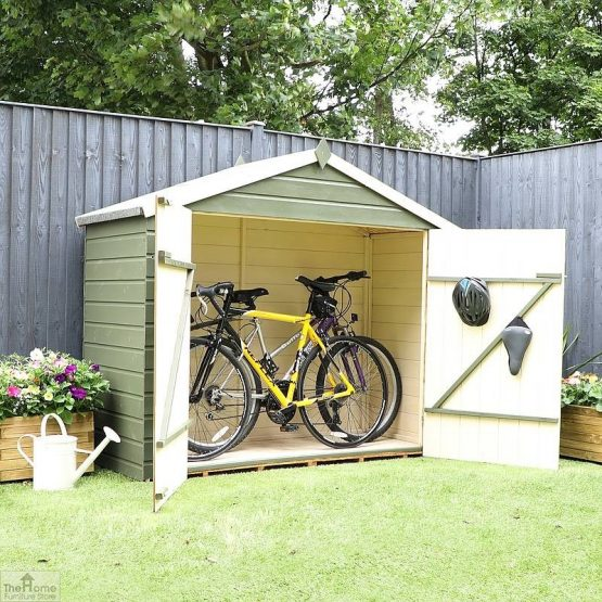 3 x 7 Shiplap Apex Bike Store_5