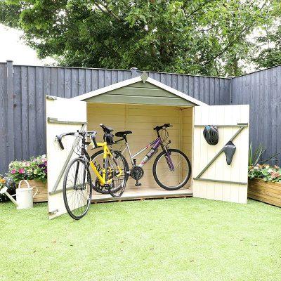 3 x 7 Shiplap Apex Bike Store_6
