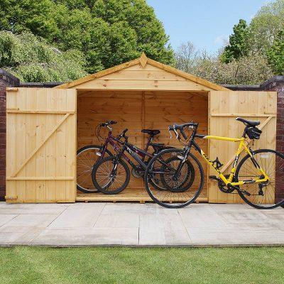 3 x 7 Shiplap Apex Bike Store_2