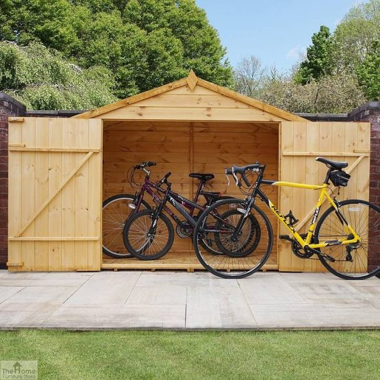 3 x 7 Shiplap Apex Bike Store_2