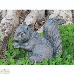Baby Squirrel Garden Ornament