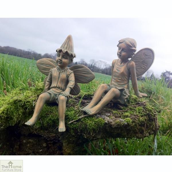 Boy Fairy Garden Ornament The Home, Fairy Garden Statues Uk